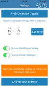 Bin2Day manage collections smartphone app integrated skills